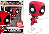 Funko - Figurine Marvel - Leaping Deadpool Marvel Corps Exclusive Pop 10cm - 0882041057218