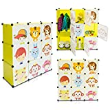 Kinderzimmer Steckschrank - Set aus 9