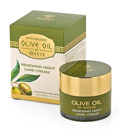 BioFresh Zelle Erneuern Nachtcreme für die Intensive Feuchtigkeitspflege mit biologischem Olivenöl...