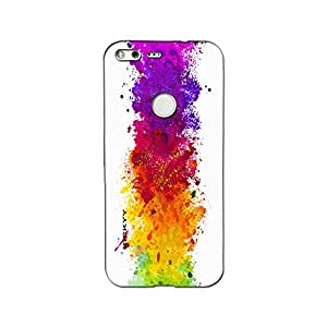 RICKYY Printed high Quality Matte Finish Mix_the_colour Design Back case cover for Google Pixel