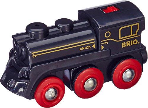 Brio 33596 - Schwarze Akku Dampflok