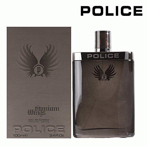 Titanium Wings by Police Eau de Toilette 100ml