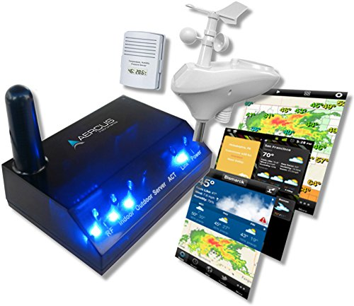 Wireless Weather Station WeatherSleuth® - Professional IP Weather Station with Direct Real-time Internet Monitoring ...