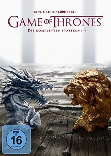 Game of Thrones: Die kompletten Staffeln 1-7 (exklusiv bei Amazon.de) [Limited Edition] [34 DVDs] (Game Thrones 3 Of 2 Dvd 1 4)