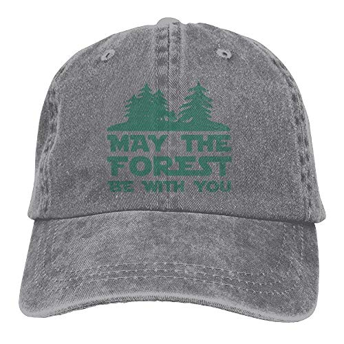 Xdevrbk The Forest Be with You Adjustable Cotton Hat Unisex38