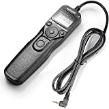 Neewer LCD Timer Shutter Release Remote Control Cord RS-60E3 For Canon Pentax Hasselblad Contax Samsung, Fits Canon EOS 60D 300D 350D 400D 450D 1000D 500D 550D 650D 700D 100D