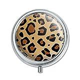 Imprimé léopard Animal Spots Pill Boîte Motif