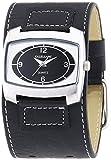 Excellanc - 195021000116 - Montre Femme - Quartz - Analogique - Bracelet différents matériaux Noir