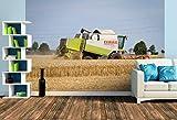 Premium Foto-Tapete Landmaschinen zum Anfassen nah (verschiedene Größen) (Size L | 372 x 248 cm) Design-Tapete, Vlies-Tapete, Wand-Tapete, Wand-Dekoration, Photo-Tapete, Markenqualität von ERFURT