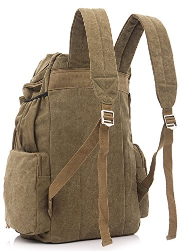 Longzibog Dual verstellbare Schultergurte und Hängeschlaufenband Mode Damen accessories hohe Qualität Einfache Tasche Schultertasche Freizeitrucksack Tasche Rucksäcke Café