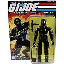 GI Joe Figura Jumbo Vintage Kenner Snake Eyes 30 cm