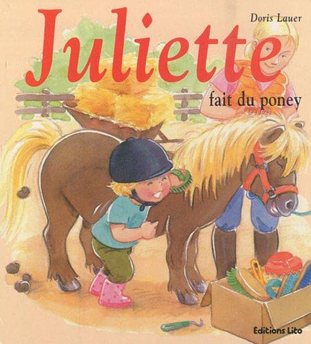 Mini Juliette fait du poney