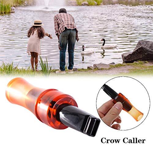 Krystallove Whistle Caller Decoy Für die Beobachtung von Wildtieren, Whistle Soundtrack Bait Whistle Geeignet für die Jagd oder die Beobachtung von Wildtieren