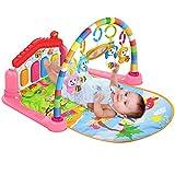SURREAL (SM) 3 in 1 Pianoforte per bambini PlayMat Musica e luci - rosa...