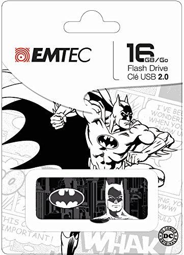 � 16GB USB 2.0Superheld Flash Drive (ecmmd16gm700sp03) (Design Kann variieren-Super Man, Batman, Wonder Frauen) ()