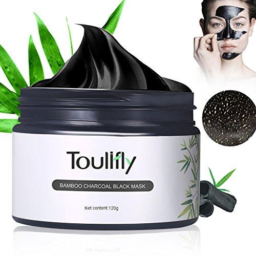 Black Mask,Peel Off Máscara,Mascarilla Negra Para Puntos Negro,Carbón de bambú negro máscara,los poros limpieza facial máscara facial máscaras negro 120 G