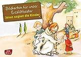 Kamishibai Bildkartenset Jesus segnet die Kinder - Bildkarten für unser Erzähltheater (Bibelgeschichten für unser Erzähltheater) - Petra Lefin (Illustriert)