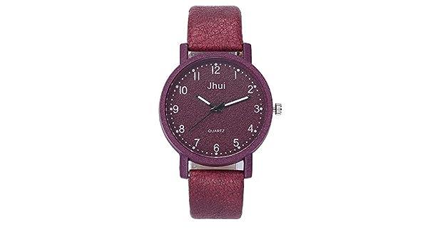 Sportuhr Damen Rosegold : Lolamber armbanduhr für damen herren slim uhr armband frauen leder