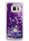 Phone Kandy® Hart Transparent Shell Glitter Stars Sparkle Telefon-Kasten mit Karikatur Hülle Abdeckung Haut tascen (Samsung Galaxy S7, Eeyore)