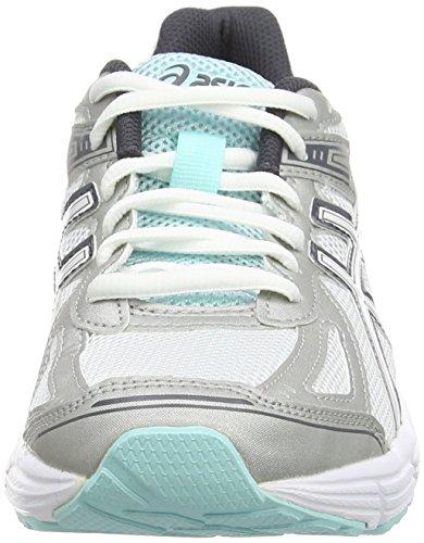 Asics Patriot 7, Chaussures de Running Entrainement Femme Blanc (White/Vanilla Ice/Aqua Splash 0102)