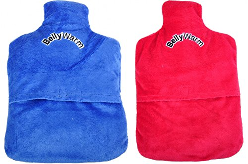 Pedi-BellyWarm Körner-Wärmflasche Körnerkissen Wärmekissen Kältekissen Therapie, Farbe:rot - Pedi Hausschuhe
