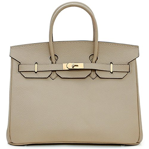 macton-european-and-american-classic-padlock-genuine-leather-top-handle-handbags-mc-1329-35cm-grey