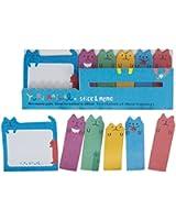 Cute Mini Sticky Memo Pads - Cool Cats