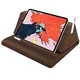 MoKo Cuscino Supporto per Tablet, Cuscino Comodo Supporto Compatibile con Nuovo iPad 10.2' 2019 / iPad Air 3 / Mini 5 / iPad Pro 11/10.5/9.7, Galaxy Tab Fino a 11 Pollici - Caffè