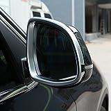 ABS matt-Seite Rückspiegel Rahmen Rand Aufkleber für X5F15X6F16Car Accessories 2014–2017
