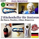 LifeShift Flaschenöffner für Senioren Plus Deckelöffner Dosenöffner...