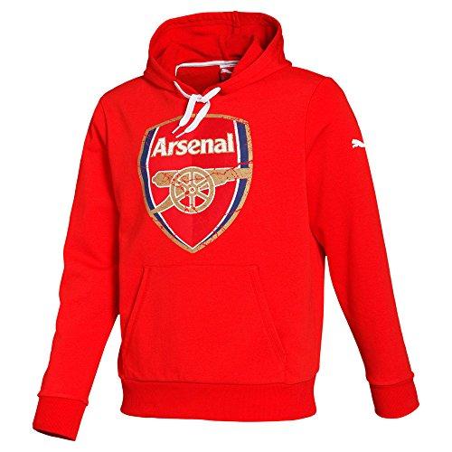 Puma Herren Sweatshirt AFC Fan Hoody, High Risk Red, XL, 746479 01