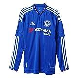 adidas Herren Langarm Heimtrikot FC Replica, Chelsea Blue/White/Power Red, S, S11676