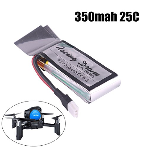 1PCS 350mAh Battery 1S 3.7V 25C LiPo Battery with Molex Bung up for Mini Drone RC Quadcopter By DroneAcc