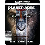 Planet of the Apes Trilogy - 3 Movies Collection: Rise of the Planet of the Apes + Dawn of the Planet of the Apes + War for the Planet of the Apes