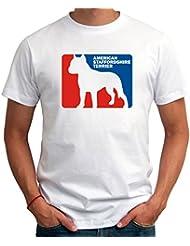 American Staffordshire Terrier Sports Logo T-Shirt