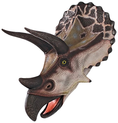 Design Toscano Giant Triceratops Dinosaur Wall Trophy - Best Price