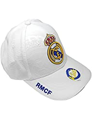 Gorra Real Madrid junior blanco primer equipo [AB3929]