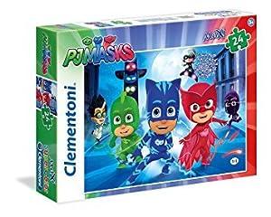 Clementoni 24071-PJ Masks Maxi Puzzle, 24Piezas