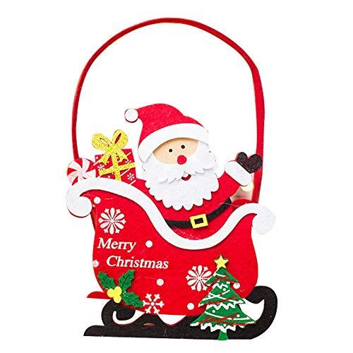 Cestello portaoggetti cestino portaoggetti natalizio cesto porta caramelle cesto porta caramelle grande per il desktop