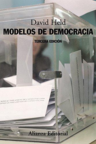 Modelos de democracia/ Models of Democracy por David Held