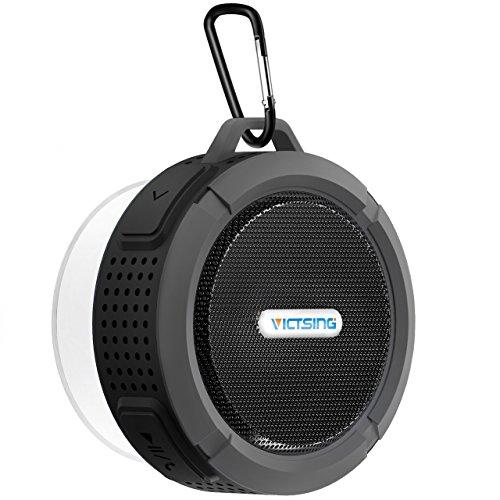 VTIN Bluetooth Lautsprecher, Mini Bluetooth 4.0 Speaker Tragbarer Wasserdichte Wireless Lautsprecher Freisprecheinrichtung f¨¹r Outdoor, Dusche f¨¹r iPhone iPad Freisprech usw