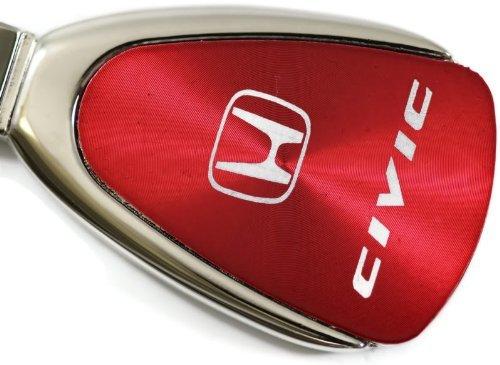 dantegts-honda-civic-porte-cles-authentique-de-forme-goutte-avec-logo-red