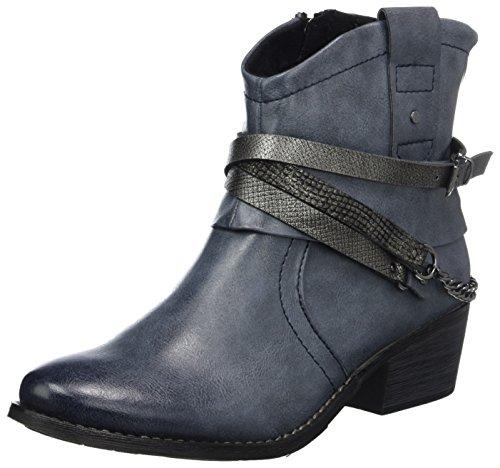 Marco Tozzi Damen 25043 Stiefel, Blau (Navy Antic com), 38 EU