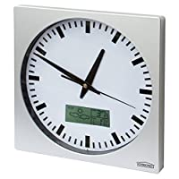 Meteo ZP1 Wall Clock With Date, Thermometer, Hygrometer, Weather Forecast 25cm x 25cm