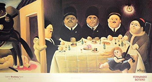 Germanposters Fernando Botero Massacre de los innocentes Det.1 Poster Kunstdruck Bild 52x98cm
