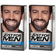 just for men lot de de color gel pour barbe et moustache - Coloration Barbe Homme