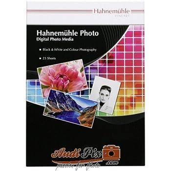 Hahnemuhle 10641671 Fineart Baryta A4 25 21 x 29,7 cm Carta fotografica A4