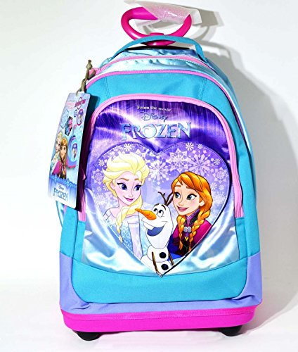 Zaino big trolley disney frozen sweet heart turchese seven 2017 offerta new