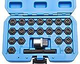 Jeu de 22 extracteurs écrou antivol Pour démonter les écrous antivol de roue