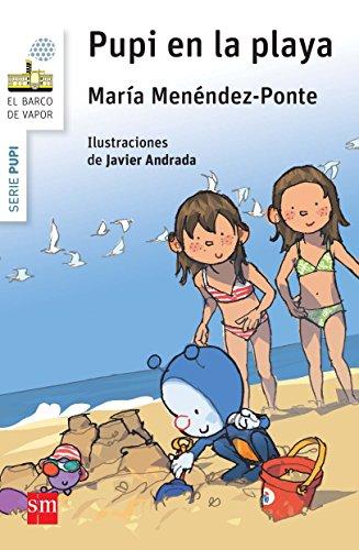 Pupi en la playa (El Barco de Vapor Blanca) por María Menéndez-Ponte